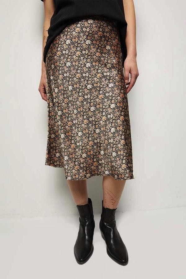 Nili Lotan Lane Skirt - Multi Floral Print