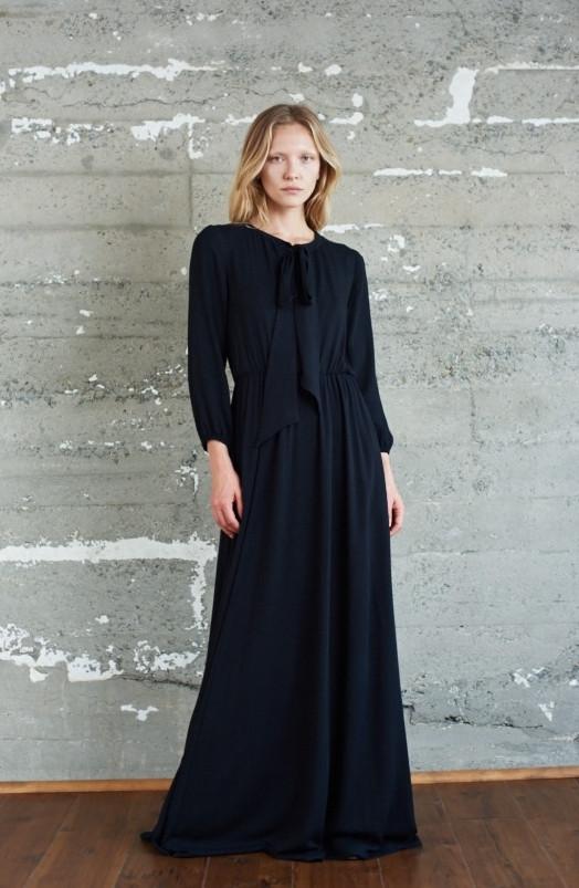 Kamperett Camille Bow Neck Dress