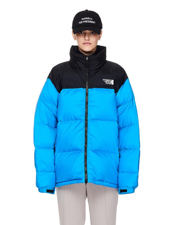 Vetements Puffer Jacket - Blue
