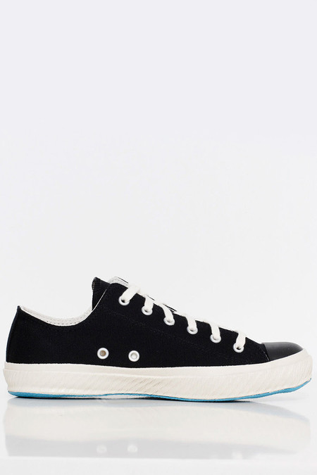 UNISEX Shoes Like Pottery Low Canvas Sneaker - Black