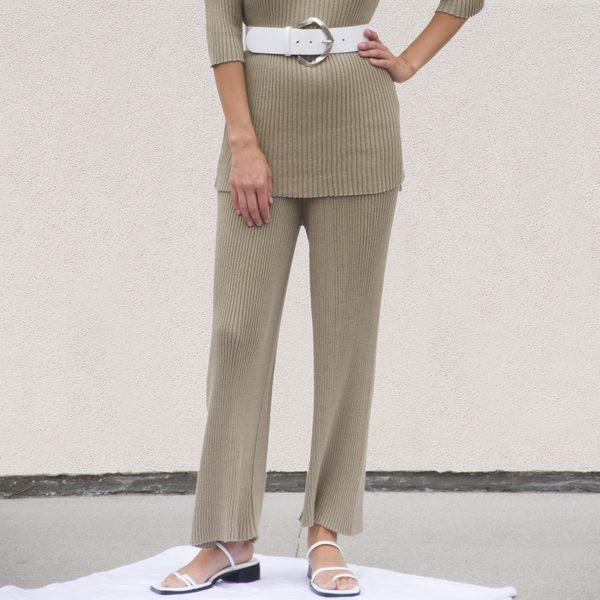 Lauren Manoogian Column Pants - Drab