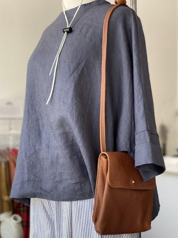 Erin Templeton Prep School Crossbody Bag - Caramel Leather