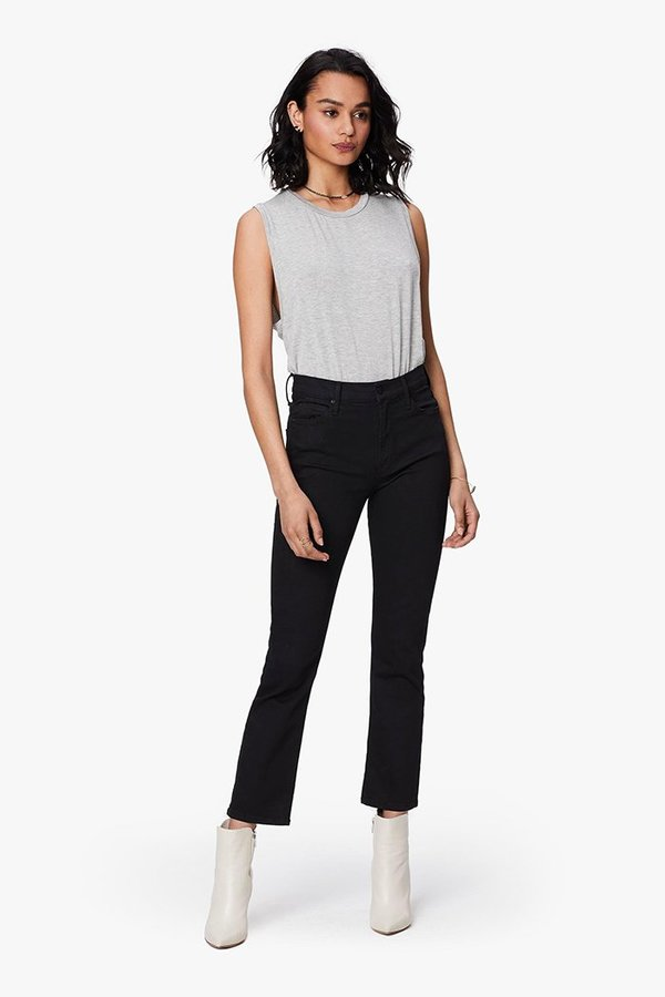 Mother Denim Midrise Dazzler Jeans - Not Guilty