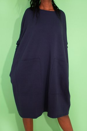 L.F.Markey Milo Dress - Navy
