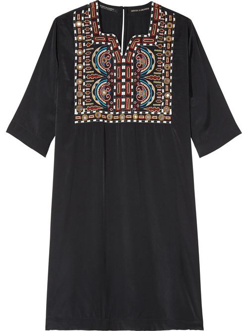 Maison Scotch Relaxed Silky Dress