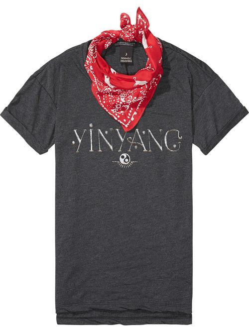 Maison Scotch Bandana T-Shirt