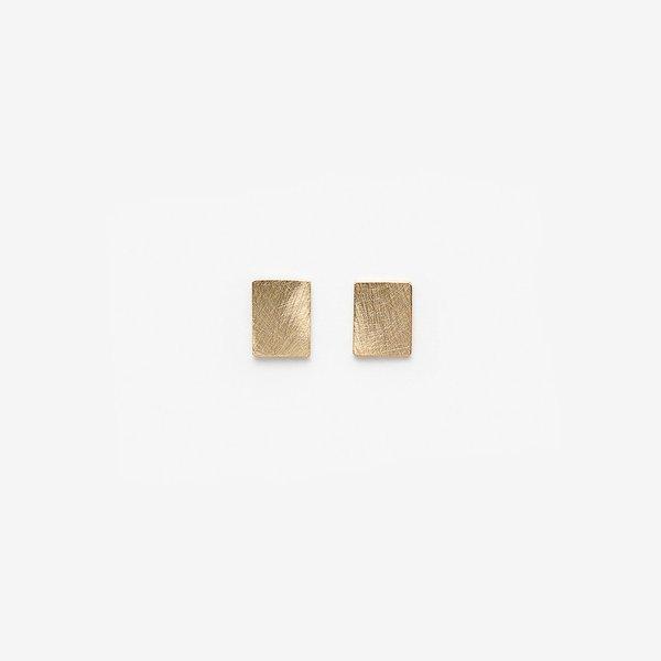 Pilar Agueci Boucles Chip - Or Jaune 14k