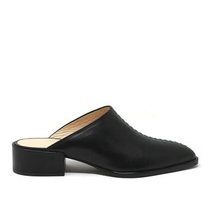 Sylven New York CASS Mules - black leather