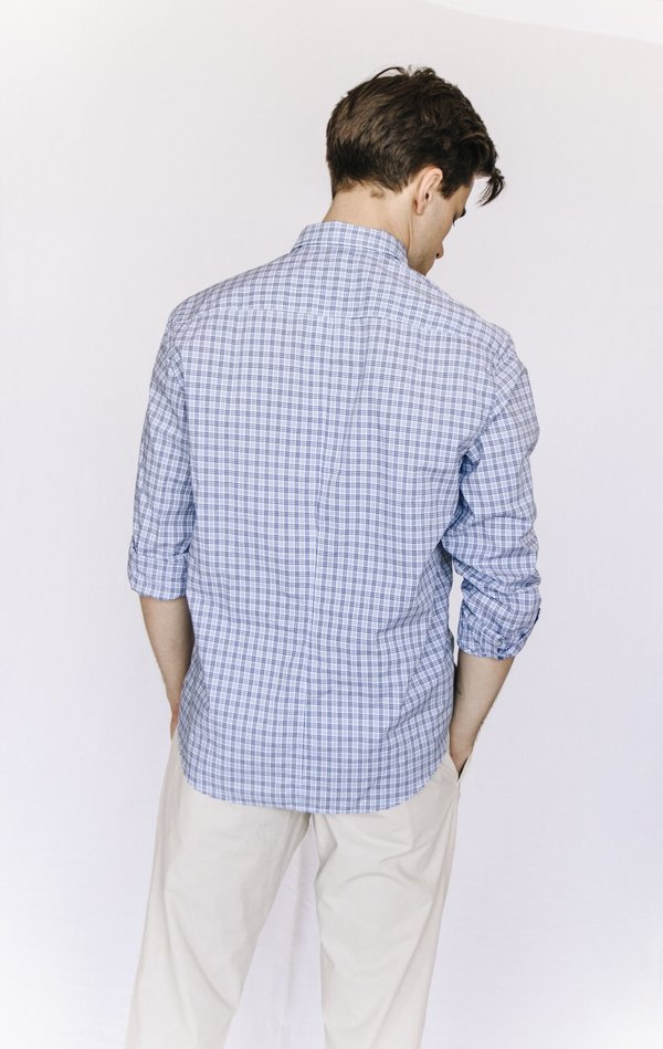 Frank and Eileen Cotton Check Button Down
