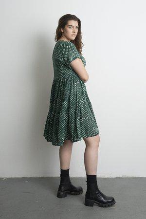 Osei-Duro Layer Dress - Bullfrog by Moonlight