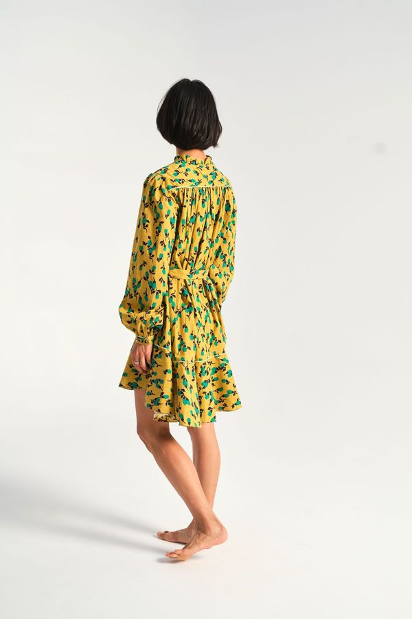 Rachel Antonoff Drew Dress - Mustard Tulip