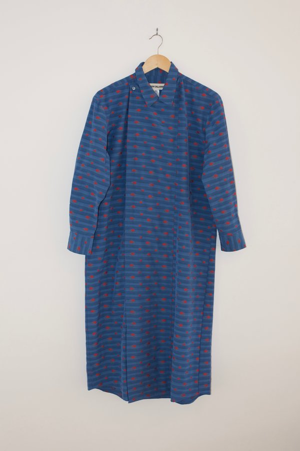 Caron Callahan Ava Shirt Dress - Blue