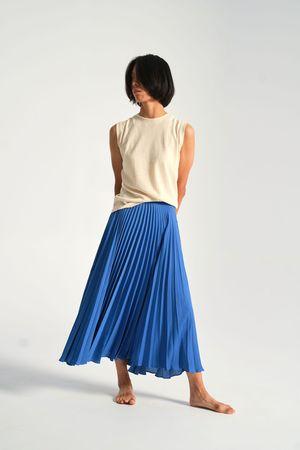 Shaina Mote Aster Skirt - Antique Blue