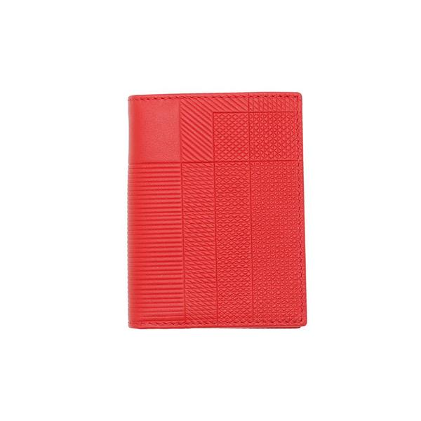 COMME des GARCONS Classic Wallet - Intersection/Red