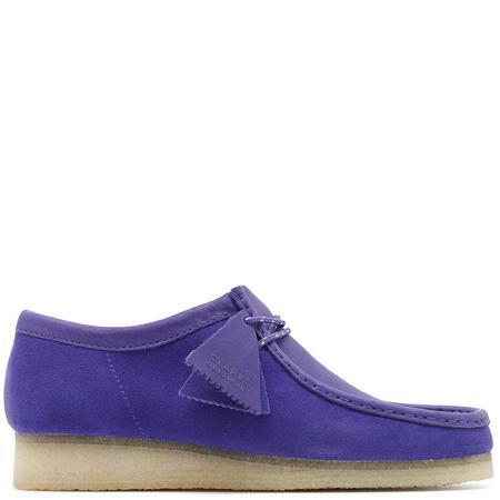 Clarks Wallabee Boot - Purple Combi Suede