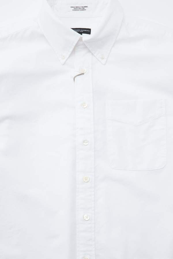 Engineered Garments Cotton Oxford 19 Century BD Shirt - White