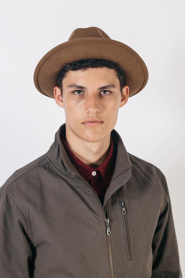 20ae98c6b9b769 Yellow 108 Luke Hat - Caramel Wool | Garmentory