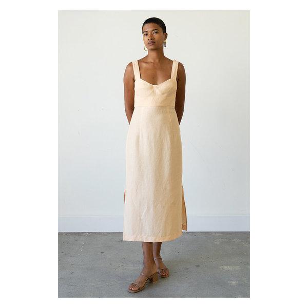 Waltz Bralette Dress - Apricot