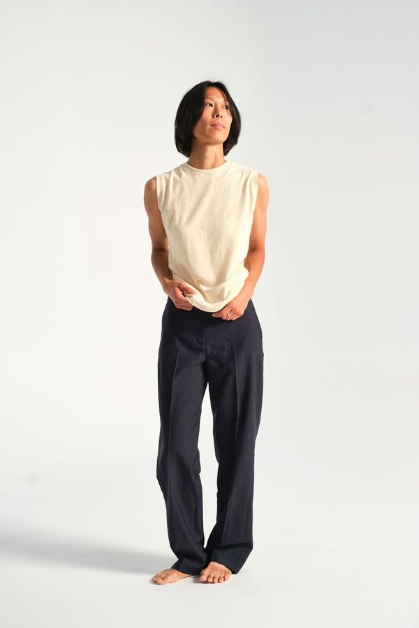 Norse Projects Marlina Trouser - Dark Navy
