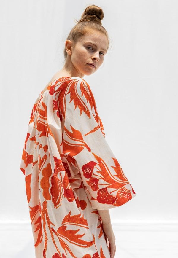 Mara Hoffman Luz Dress - Red Multi