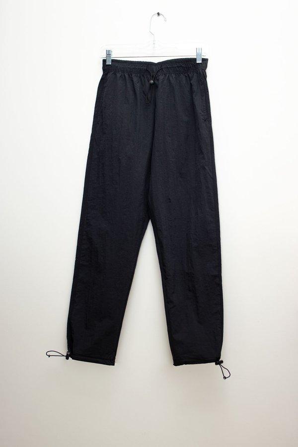 W A N T S Drawstring Nylon Joggers - Black