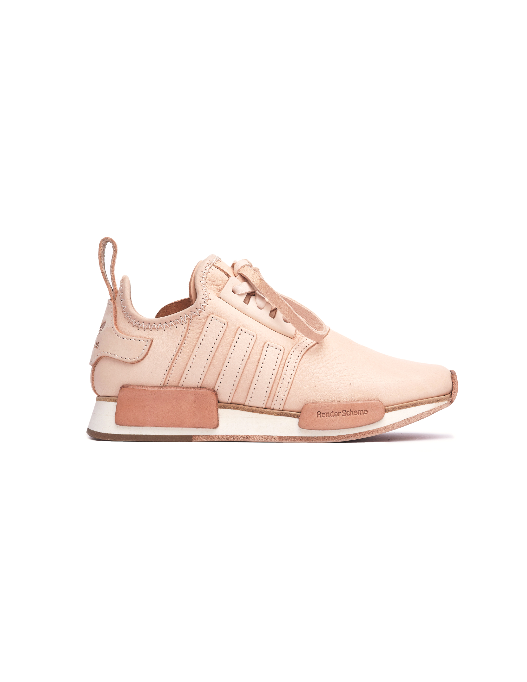 Adidas NMD R1 Leather Sneakers - Beige