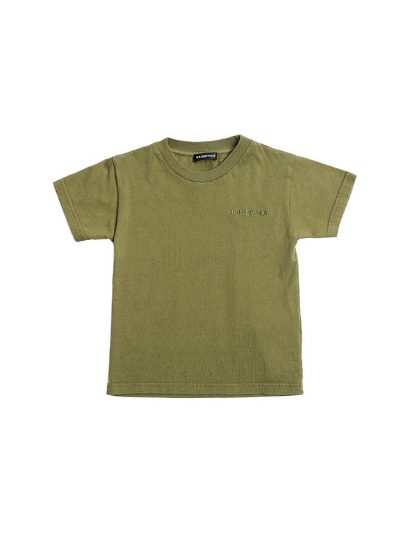 Kids Balenciaga Embroidered T-Shirt