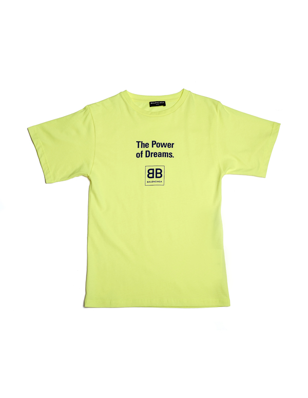 balenciaga power of dreams t shirt