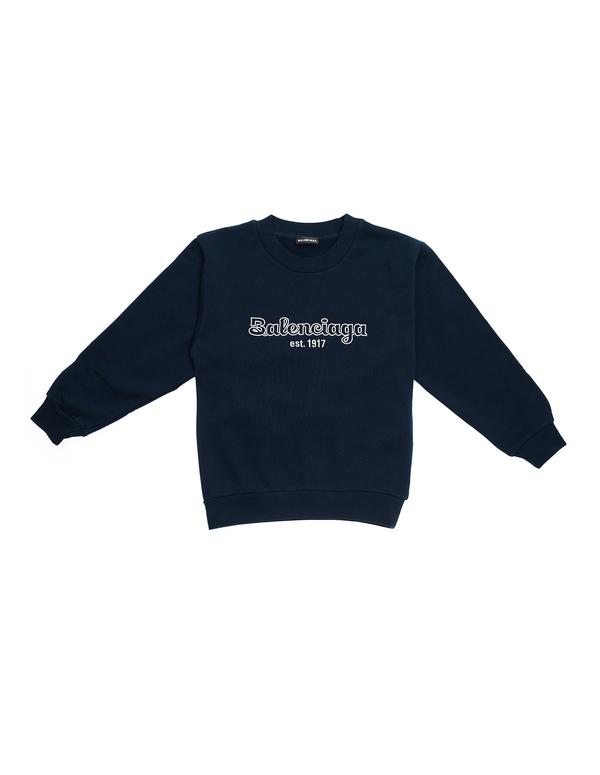 Kids Balenciaga Cotton Sweatshirt