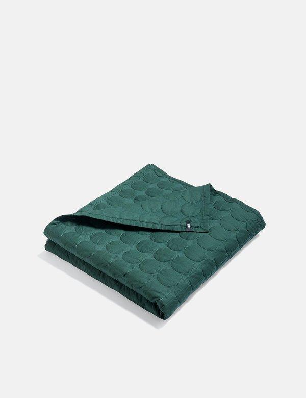 Hay Mega Dot Blanket - Dark Green