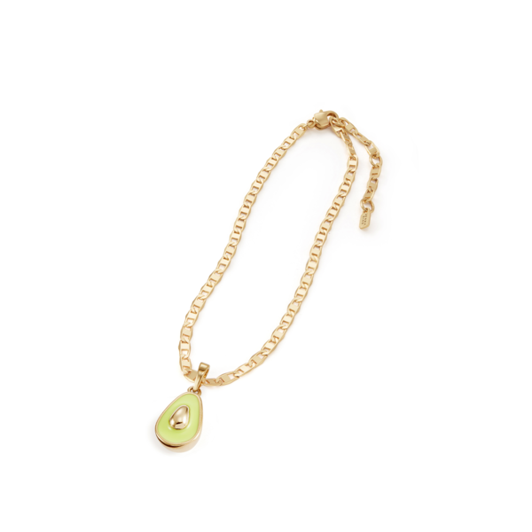 Jenny Bird Avocado Charm Bracelet