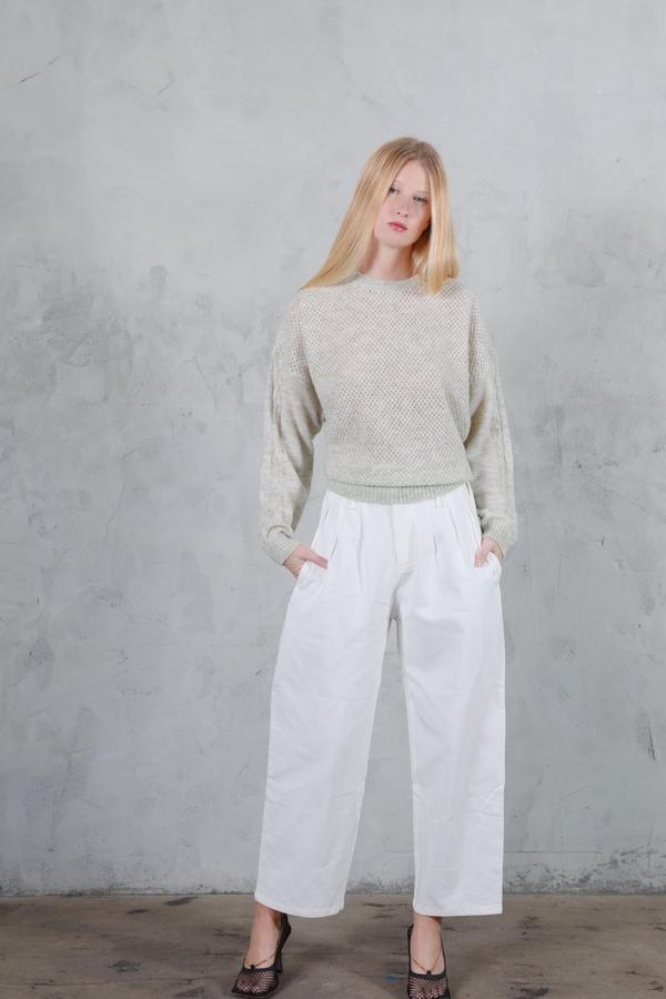 Six Crisp Days Fyti Denim Pants - White