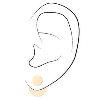 One Six Five Jewelry One Six Five Eclipse Ear Jacket