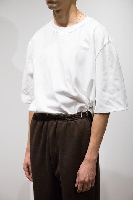 Camiel Fortgens Oversized Cotton Short Sleeve Tee - White