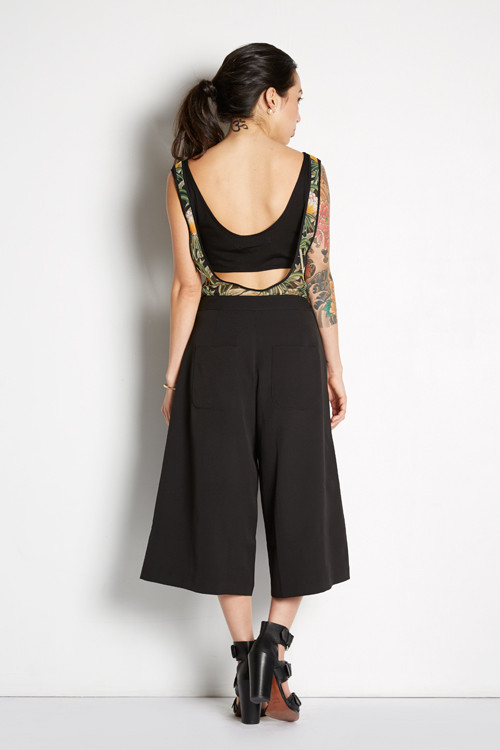 Culottes with Front Slit