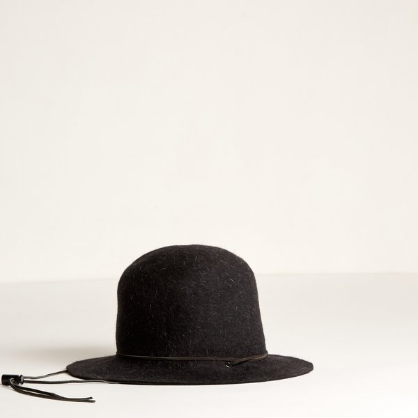 Brookes Boswell Ranger Hat - Charcoal Hare