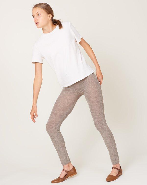 Lauren Manoogian Rib Leggings - Old Silver