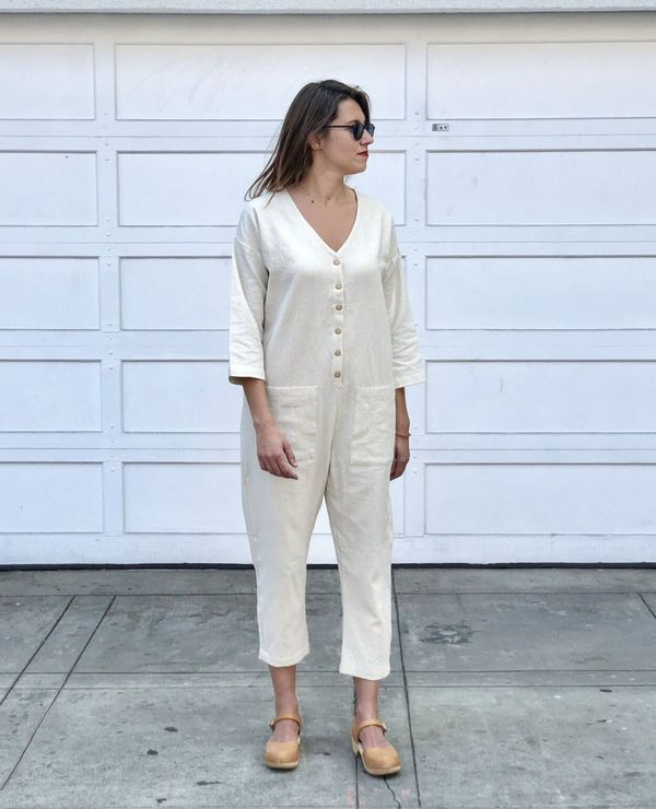 HAPPY FRENCH GANG Jumpsuit - White