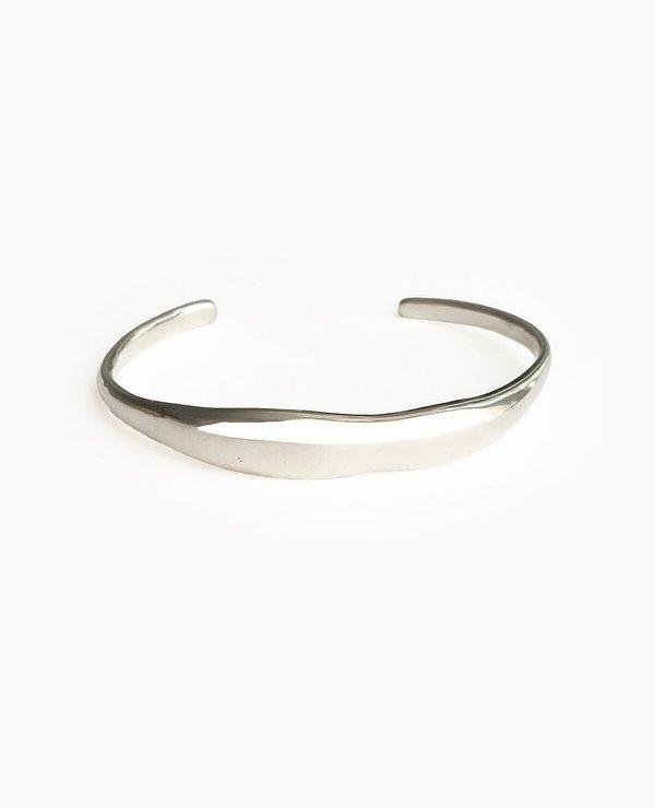 SUAI Form Cuff - Silver