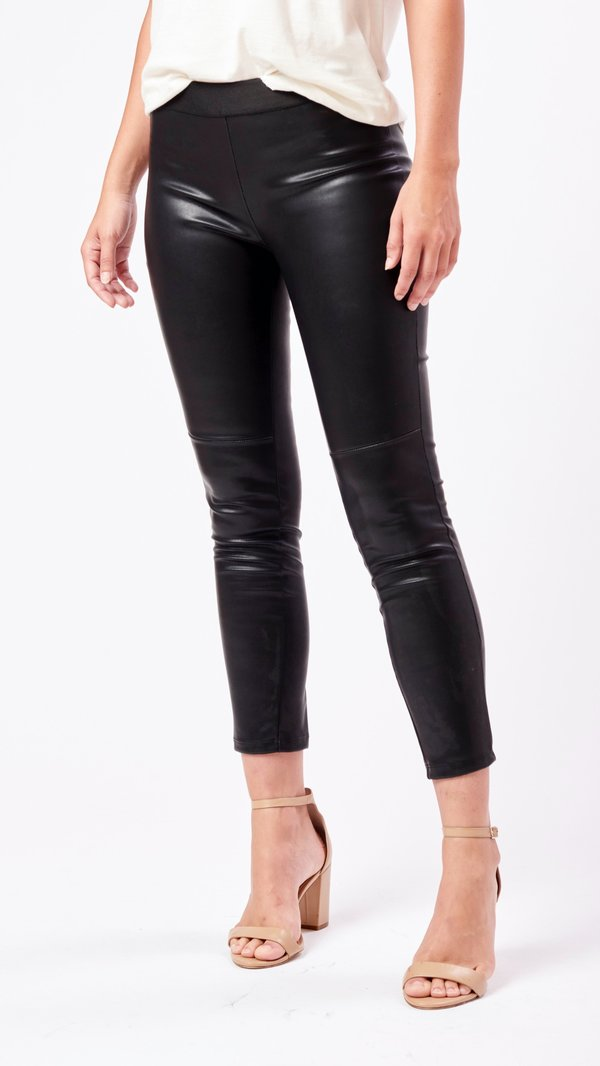 Emerson Fry Vegan Leather Legging - Black