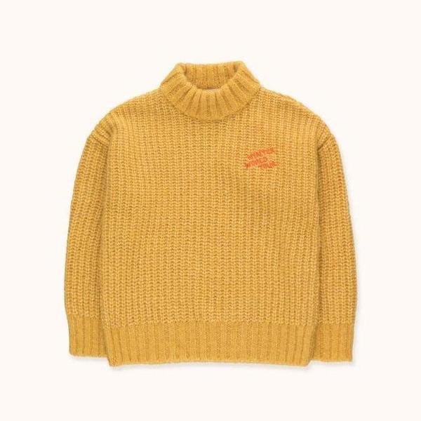 Kids Tinycottons Winter World Tour Sweater