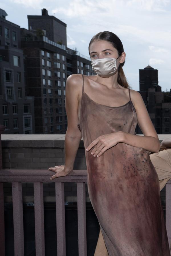 KES Minimal Slip Dress - Organic Sedona