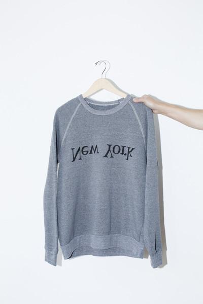 Unisex Assembly New York Cotton New York Logo Sweatshirt