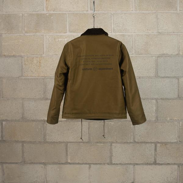 Uniform Experiment Military BOA Blouson - Khaki
