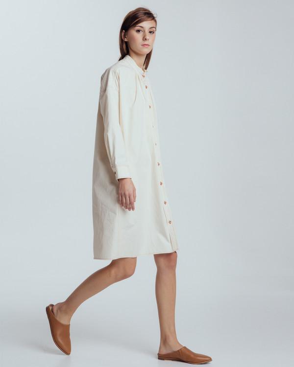 Caron Callahan Maria Shirt Dress - Natural