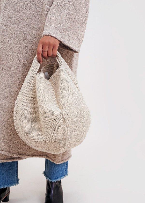 Lauren Manoogian Sisal Poof Bag