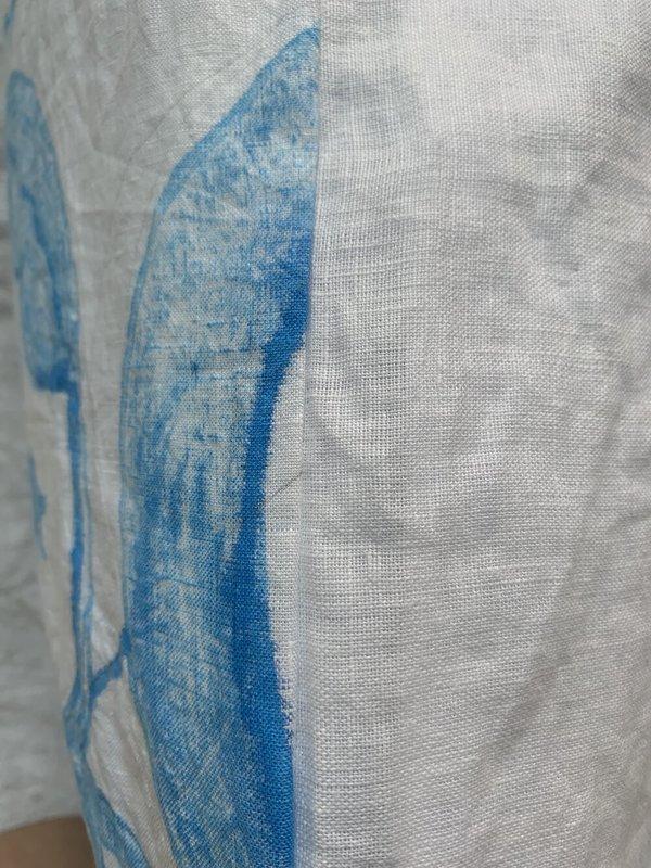 Cuttalossa & Co. Hand Painted Linen Series - Ornamental I