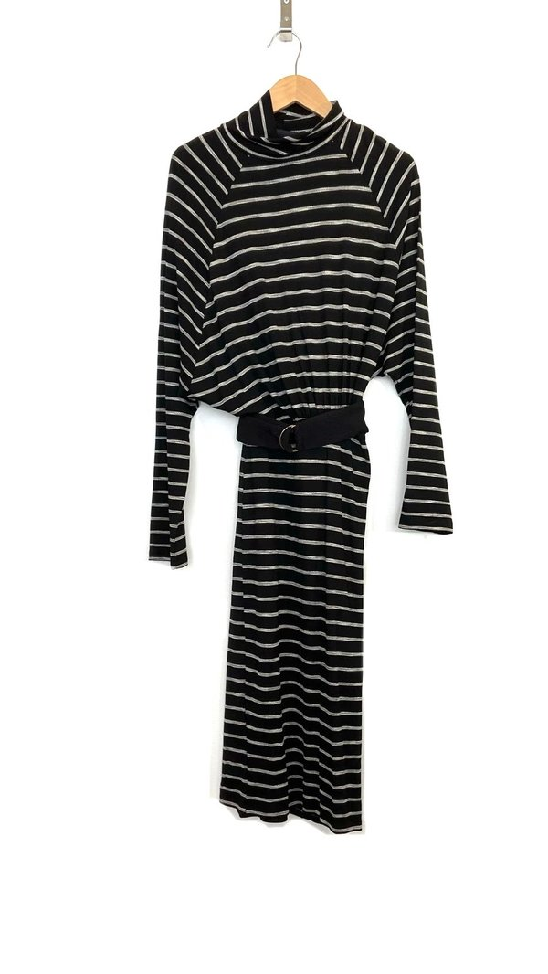 COKLUCH Auriga Dress - Black Stripe