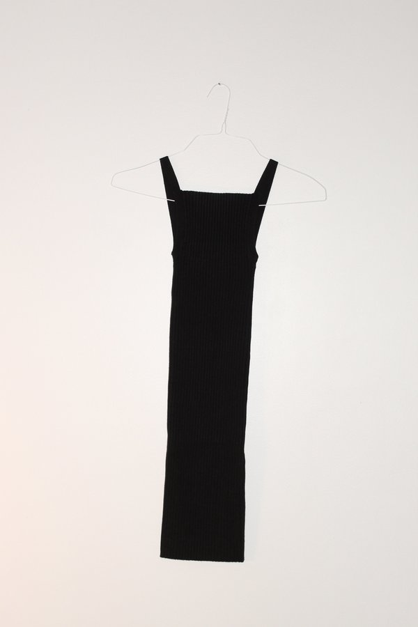 giu giu Nonna Slip Dress - Onyx