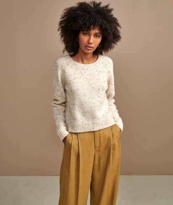 Bellerose Gando Wool Sweater - Confetti